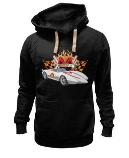 """Толстовка Wearcraft Premium унисекс """"Спиди Гонщик"""" - speed racer, спиди гонщик, мак-5, mach 5"""