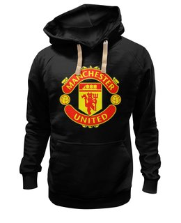 "Толстовка Wearcraft Premium унисекс ""Manchester United"" - england, uk, манчестер юнайтед, red devils, football club, футбольный клуб"
