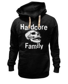 """Толстовка Wearcraft Premium унисекс """"Hardcore family"""" - music, оригинально, hardcore, mosh"""