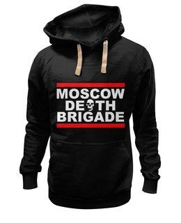 """Толстовка Wearcraft Premium унисекс """"MOSCOW DEAD BRIGADE"""" - арт, оригинально"""