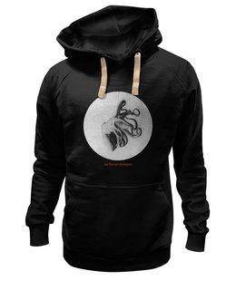 """Толстовка Wearcraft Premium унисекс """"На глубине чувств"""" - необычно, мужская, в подарок, оригинально, стильно, мужская толстовка, настя родыгина, дизайнерская одежда"""