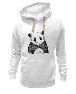 "Толстовка Wearcraft Premium унисекс ""Panda Cub"" - арт, авторские майки, футболка, медведь, панда, рисунок, в подарок, оригинально, футболка мужская, креативно"
