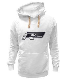 """Толстовка Wearcraft Premium унисекс """"R-line"""" - white, r, l, sport, cars, car, vw, r-line, xl, xxl"""