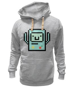 "Толстовка Wearcraft Premium унисекс ""BMO - The Adventure Time"" - adventure time, время приключений, bmo, бимо, финном и джейком"