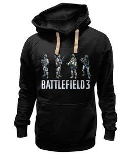 """Толстовка Wearcraft Premium унисекс """"Battlefield 3"""" - battlefield 3, толстовка battlefield 3, одежда battlefield 3, shooter, поле боя 3"""