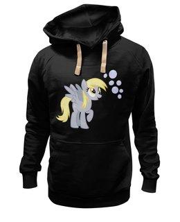 """Толстовка Wearcraft Premium унисекс """"DERP?"""" - юмор, смешные, мужская, прикольные, pony, mlp, my little pony, derpy, derpy hooves, friendship is magic"""