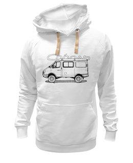 """Толстовка Wearcraft Premium унисекс """"Соболь 4х4"""" - микроавтобус, газель, соболь, соболь 4х4, баргузин"""