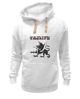 "Толстовка Wearcraft Premium унисекс ""Дракон, Dragon"" - стиль, дракон, dragon"