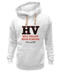 "Толстовка Wearcraft Premium унисекс ""Hill Valley High School'85"" - hill valley"