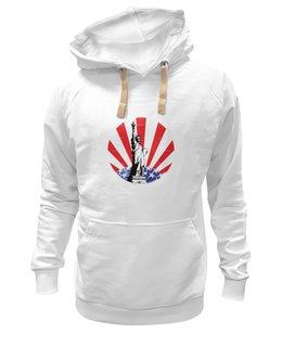 """Толстовка Wearcraft Premium унисекс """"американский флаг"""" - американский флаг, amerikanskyi flag"""