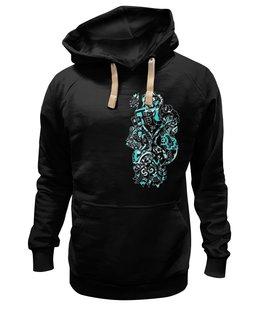 """Толстовка Wearcraft Premium унисекс """"МОСКВА STYLE"""" - сердце, style, цветы, москва, город, знак, мода, графика, flowers, fashion"""