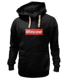 "Толстовка Wearcraft Premium унисекс ""Moscow"" - люблюмоскву"
