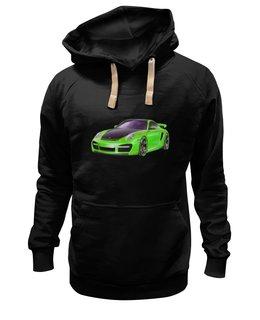 """Толстовка Wearcraft Premium унисекс """"Машина"""" - арт, москва, авто, транспорт"""