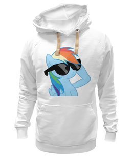 "Толстовка Wearcraft Premium унисекс ""Rainbow Dash"" - rainbow dash, mlp, my little pony, пони"