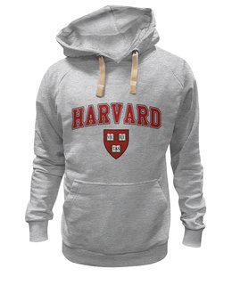 "Толстовка Wearcraft Premium унисекс ""Harvard"" - толстовка, hoodie, мгу, msu, harvard"