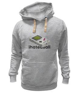"Толстовка Wearcraft Premium унисекс ""Haters Hoodie"" - haters, hoodie, авторская толстовка, молодой бренд"