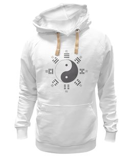 "Толстовка Wearcraft Premium унисекс ""Толстовка Цигун"" - цигун, ушу, дао, yin-yang, china"