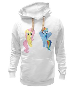 "Толстовка Wearcraft Premium унисекс ""My Little Pony friendship is magic"" - популярные"