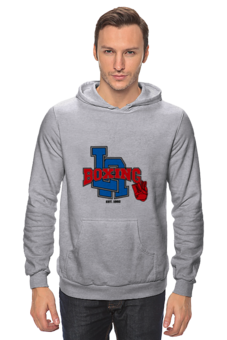 "Толстовка Wearcraft Premium унисекс ""бокс"" - спорт, бокс, la, boxing club, боксерский клуб, лос-анджелес"