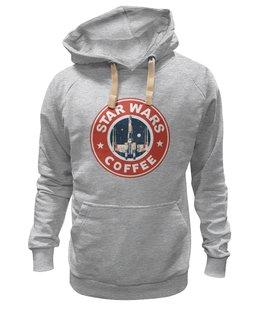 "Толстовка Wearcraft Premium унисекс ""Star Wars coffee"" - star wars, пробуждение силы, force awakens, абрамс"