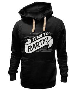 "Толстовка Wearcraft Premium унисекс ""Party"" - party, вечеринка"