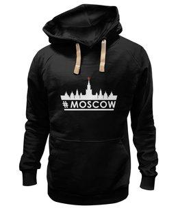 "Толстовка Wearcraft Premium унисекс ""#MOSCOW. "" - москва, moscow, патриоты"