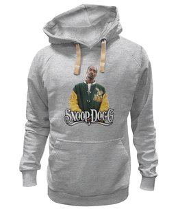 "Толстовка Wearcraft Premium унисекс ""Snoop Dogg"" - rap, hip hop, snoop lion"