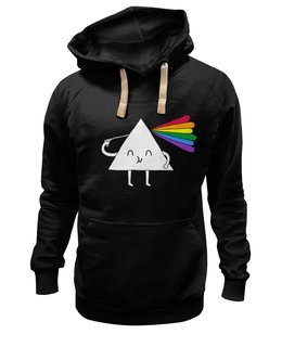 "Толстовка Wearcraft Premium унисекс ""Dark Side of the Moon"" - арт, прикольные, пинк флойд, pink floyd, dark side of the moon"