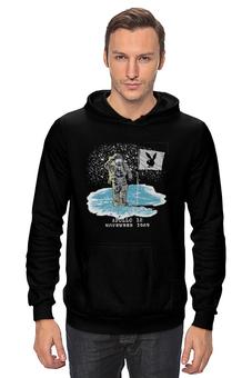 "Толстовка Wearcraft Premium унисекс ""Apollo 12"" - playboy, космос, плейбой, плэйбой, apollo 12"