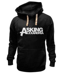 "Толстовка Wearcraft Premium унисекс ""Asking Alexandria"" - metal, asking alexandria, asking, alexandria"