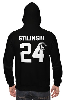 "Толстовка ""Stilinski 24"" - волчонок, teen wolf"