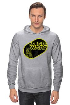 "Толстовка Wearcraft Premium унисекс ""star wars"" - космос, фантастика, star wars, лукас, звёздные войны"
