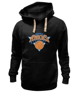"Толстовка Wearcraft Premium унисекс ""New York Knicks"" - баскетбол, nba, нью-йорк никс, knicks"