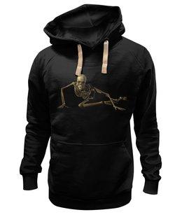 """Толстовка Wearcraft Premium унисекс """"СКЕЛЕТ ЛЕЖАЩИЙ SKELETON"""" - стиль, футболка мужская"""
