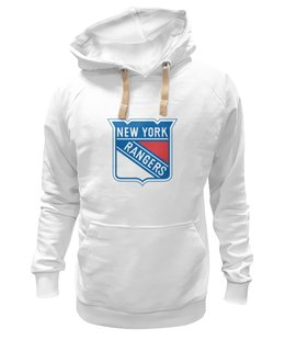 "Толстовка Wearcraft Premium унисекс ""New York Rangers"" - new york, хоккей, hockey, спортивная, nhl, нхл, rangers"