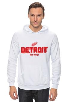"Толстовка ""Detroit Red Wings"" - хоккей, nhl, нхл, detroit red wings, детроит ред вингз"