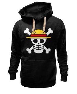 """Толстовка Wearcraft Premium унисекс """"One Piece"""" - one piece, ван пис, аниме, манга, луффи соломенная шляпа"""