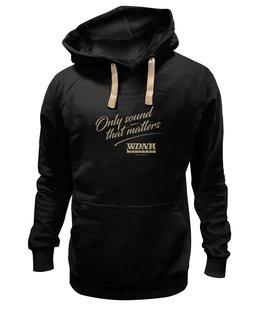 "Толстовка Wearcraft Premium унисекс ""WDNH Records black hoodie"" - wdnhrecords"