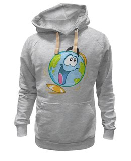"""Толстовка Wearcraft Premium унисекс """"Школа"""" - школа, учёба, глобус"""