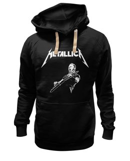 "Толстовка Wearcraft Premium унисекс ""Metallica"" - rock, metallica, металлика, джеймс хэтфилд, легенды рока"