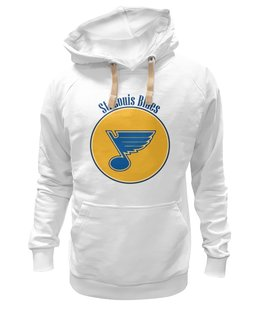 "Толстовка Wearcraft Premium унисекс ""St. Louis Blues "" - хоккей, nhl, нхл, сент-луис блюз, saint louis blues"