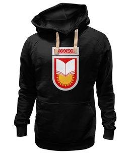 """Толстовка Wearcraft Premium унисекс """"Oldschool"""" - ссср, олдскул, эмблема, старая школа, образование"""