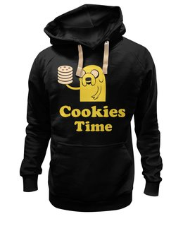 "Толстовка Wearcraft Premium унисекс ""Jake cookies "" - adventure time, время приключений, jake cookies"