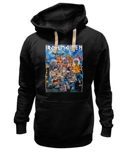 "Толстовка Wearcraft Premium унисекс ""Iron Maiden Band"" - heavy metal, рок музыка, iron maiden, хэви метал, eddie"