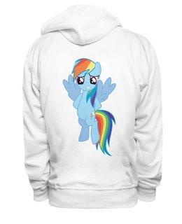 "Толстовка Wearcraft Premium унисекс ""My Little Pony friendship is magic"" - популярные, оригинально, креативно"