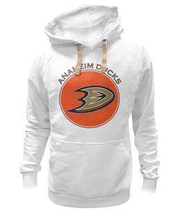 "Толстовка Wearcraft Premium унисекс ""Anaheim Ducks"" - хоккей, hockey, nhl, нхл, anaheim ducks, анахайм дагз"