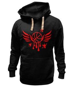 "Толстовка Wearcraft Premium унисекс ""Баскетбол"" - крылья, спорт, мяч, баскетбол, тренировка"