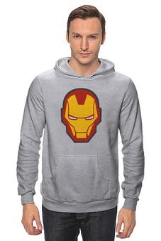 """Толстовка """"Железный человек"""" - мстители, железный человек, iron man, tony stark, старк"""