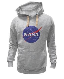 "Толстовка Wearcraft Premium унисекс ""NASA | НАСА"" - звезды, космос, nasa, наука, the spaceway"