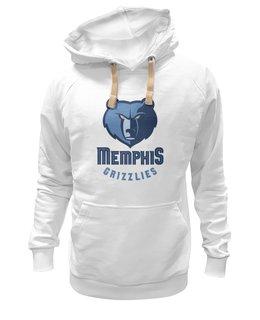 """Толстовка Wearcraft Premium унисекс """"Memphis Grizzlies"""" - баскетбол, nba, нба, memphis, grizzlies"""